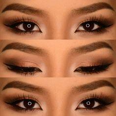 Double eyelid Makeup