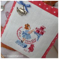 puntocroce e fantasia: decorazioni in cucina | Cross Stitch ...