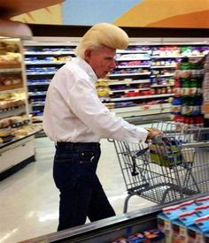 Old Johnny Bravo ---- funny pictures hilarious jokes meme humor walmart fails Surly this is a clip on quiff? very handy when you're in a hurry to go to Walmart People Of Walmart, Only At Walmart, Walmart Walmart, Johnny Bravo, Walmart Humor, Walmart Shoppers, Walmart Customers, Funny Kids, Hilarious Pictures