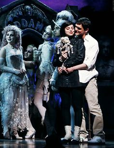The Addams Family musical. this picture literally makes me so happy. DREAM ROLE DREAM EVERYTHING.
