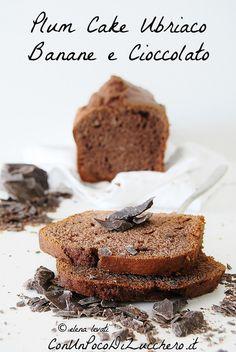 chocOlate banana plum cake