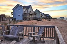 Ahh..relax! Must-see #sunsets from the Outer Banks #OBX #Kitty Hawk #NorthCarolina #BeyondVoyage