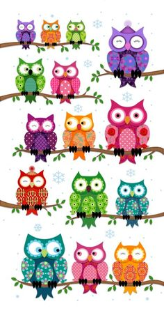 ಌ‿✿⁀ᎧᏇℓs‿✿⁀ಌ ~~Paula Doherty Owl Patterns, Quilt Patterns, Stitch Games, Owl Wallpaper, Whimsical Owl, Fall Art Projects, Bird Quilt, Owl Pictures, Owl Always Love You