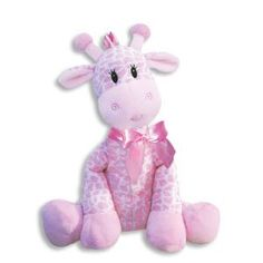 Baby Rattles - 9 Inch Giraffe Rattle for GirlBaby RattlePlush RattleBaby Shower GiftNewborn Gift -- You can get more details by clicking on the image.