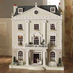 Traditional period dolls house