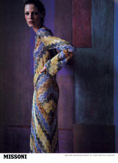 Missoni Spr/Sum 1997 - Tanga Moreau by Mario Testino
