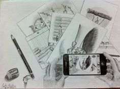 All of my drawings in one :D
