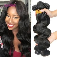 Hair Weaving 7 7a Unprocessed Virgin Brazilian Hair Body