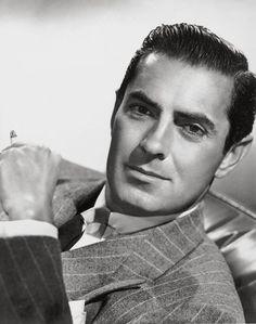 TYRONE POWER  (1914 - 1958)   Marie Antoinette (1938), The Mark of Zorro (1940), The Razor's Edge (1946), Witness for the Prosecution (1957)