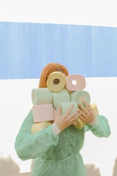 Karen Khachaturov on Behance Pastel Photography, Creative Photography, Portrait Photography, Verde Vintage, Pastel Colors, Colours, Documentary Photographers, Fashion Mode, Commercial Photography