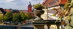 Gotha in Thüringen, Blick auf den Hauptmarkt Hotels, Germany, Street View, Fun Places To Go, Gotha, City, Destinations, Viajes, Deutsch