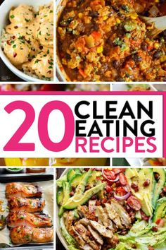 Looking for healthy dinner inspiration? These clean eating recipes fit the paleo, whole30 and the keto diet.
