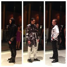 Menswear design by Bacca Da Silva 2013 San Francisco Fashion Awards