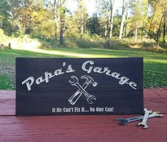 Father's Day Gift Garage Sign Gifts for Him Gifts