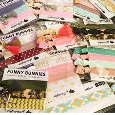 FUNNYBUNNIES all over....Haar-& Armcandy in einem! #funnybunnies #bunny #armcandy #haargummi #hairtie #trend #vegan