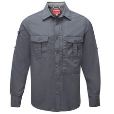 Extra lightweight and ultra comfortable, our travel shirt comes in blue and white for him. Men's NosiLife Long-sleeved Shirt   National Geographic Store
