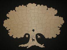 120 pc árbol Wedding Guest libro Puzzle  por KeystonePuzzles, $405.00