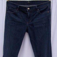 Citizens of Humanity Ava Low Rise Straight Leg Jeans Celestial Dark Tagged Sz 32 #CitizensofHumanity #StraightLeg
