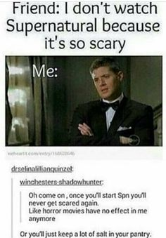 This is actually really true. I watched the first episode, freaked out, and didn't touch it again for a couple years. I finally tried it again, and after about season 1, I haven't felt scared of anything on there