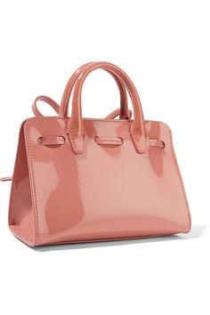 Mansur Gavriel - Sun Mini Mini Patent-leather Tote - Pink - one size