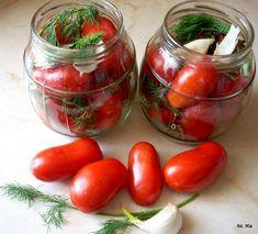Smaczna Pyza: Kiszone pomidory Creative Food Art, Polish Recipes, Polish Food, Recipes From Heaven, Kimchi, No Cook Meals, Food Hacks, Gluten Free Recipes, Preserves