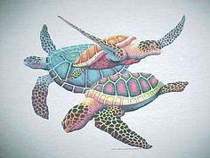 turtles ~ art                                                                                                                                                     Más