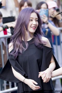 Irene purple haired is lyfe, after kyungsoo happiness 😍😍