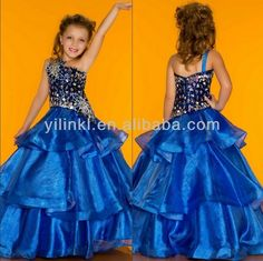 Gowns for 10 Year Olds   ... Western Wear One Piece Fancy 12 Years Old Birthday Girls party dresses
