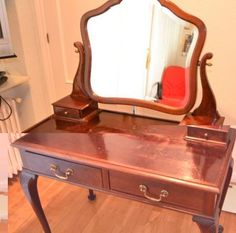 Foto de Tocador con espejo biselado