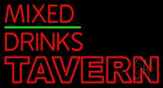 Double Stroke Huge Tavern Neon Sign