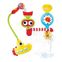 Submarine Spray Station Bath Toy Hand Shower Battery Operated Water Pump Shower Bath Toys For Toddlers, Best Toddler Toys, Kids Toys, Children's Toys, Boy Toys, Toddler Girls, Baby Shower Themes, Baby Shower Gifts, Baby Bath Toys