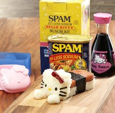 Spam Misubi & Hello Kitty, Yes Please!!!