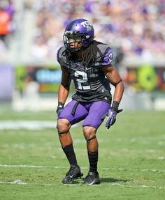 There's always that one player quarterbacks want to avoid. On TCU's defense, that is Jason Verrett. Throw the ball his way at your own peril. He led the Horned Frogs with six interceptions and 16 pass breakups. That was also first in the Big 12. Verrett is on the Walter Camp Award List and is a candidate for the Jim Thorpe Award.(Courtesy of TCU)