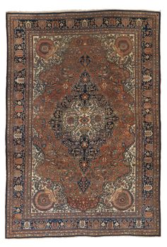 Sarouk Fereghan carpet, North Persia approximately 12ft. 7in. by 8ft. 9in. (3.84 by 2.67m.) circa 1910