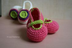 Two darling baby girl Booties!
