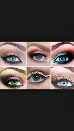 Maquillage Yeux Bleu Maquillage Pinterest