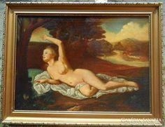 Antik szep akt festmeny Places To Visit, Painting, Painting Art, Paintings, Paint, Draw, Places Worth Visiting