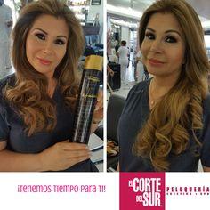 ¡Los mejores productos en el cuidado y el #Styling para tu cabello!  Este es un excelente trabajo de nuestra gran estilista profesional Patricia Mafla #Maquillaje y #Ondas ideales para ese día tan especial.  Nosotros te asesoramos, ¡Tenemos tiempo para ti!