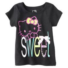 "Hello Kitty Infant/Toddler ""Sweet"" graphic tee! Too cute! #hellokitty #targetstyle"
