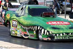 Funny Cars Drag Racing | ... race as the PR & marketing guy for Terry McMillen's drag racing team