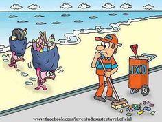 Los mares no deben ser el cubo de la basura
