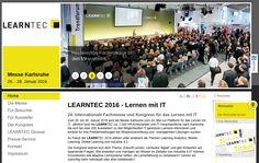 """Karlsruhe. Der Kongress widmet sich dem Thema """"Zukunft Lernen: Lernkultur digital"""" und gibt Antworten auf spannende Fragen: Wie erwerben und managen wir Wissen im Zeitalter von Industrie 4.0? Können Innovationen wie adaptive Lernsysteme helfen, die Lernerfahrung zu verbessern? Lernen wir zukünftig mehr individuell oder eher kollaborativ?"""