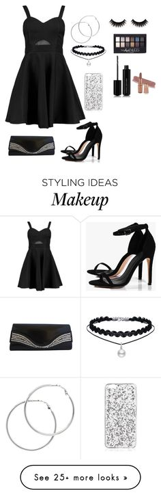 """Untitled #92"" by lindylicous on Polyvore featuring Boohoo, Melissa Odabash, Maybelline and Marc Jacobs"