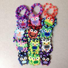 Custom EDC Owl Perler Kandi Bracelet | EDCLV Las Vegas