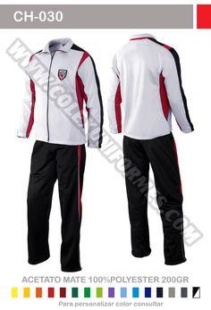 Uniforme deportivo María Auxiliadora con pantalón y chaqueta ... 07a083ee3dfe0