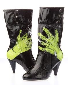 I will own these shoes next - Iron Fist ONE HAND IN GRAVE Zombie Boots Vegan