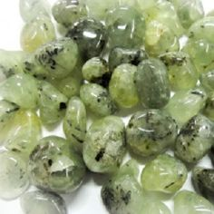 Prehnite is the 'healer of healers'. This magical stone is aligned with the heart chakra, and carries a high vibration. Prehnite connects one to the angelic realms, allowing you to feel your angels, a