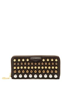 Thunderdome Studded Slim Zip Wallet  WalletBags #Wallets