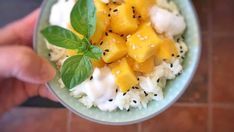 Learn how to make mango sticky rice, probably Thailand's most popular dessert!
