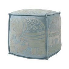 Elephant Pouf - These are so pretty.